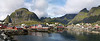 Pueblo pesquero en las Islas Lofoten